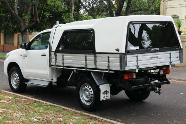2014 Toyota Hilux KUN26R MY14 SR Cab chassis