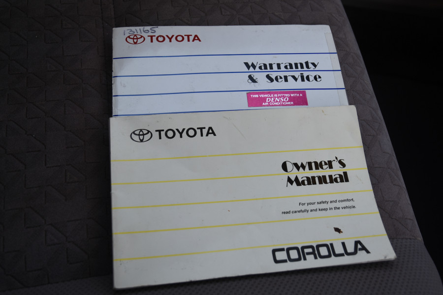 2001 Toyota Corolla AE112R Ascent Ute Image 15