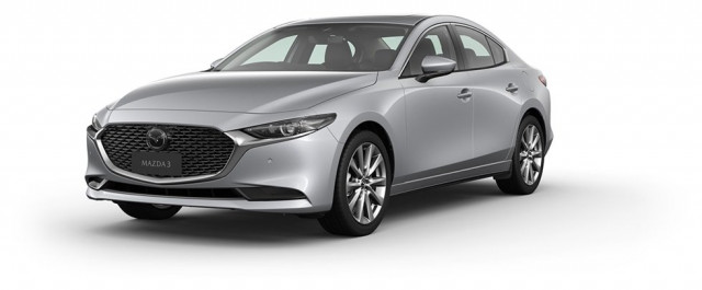 2020 Mazda 3 BP G25 Astina Sedan Sedan Mobile Image 2