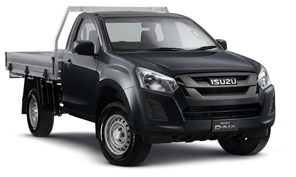 2019 Isuzu UTE D-MAX SX Single Cab Chassis High-Ride 4x2 Single cab
