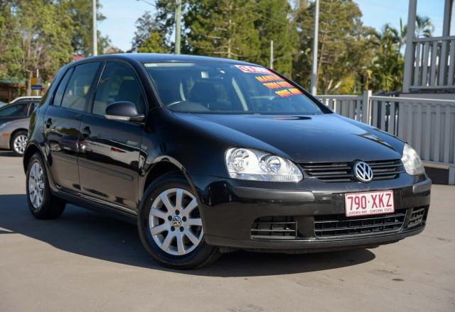 2007 Volkswagen Golf V MY08 Comfortline Hatchback