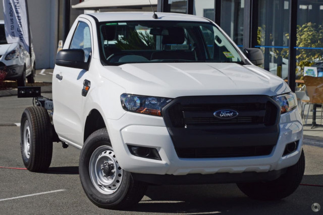 2018 Ford Ranger PX MkII 4x4 XL Single Cab Chassis 3.2L Cab chassis