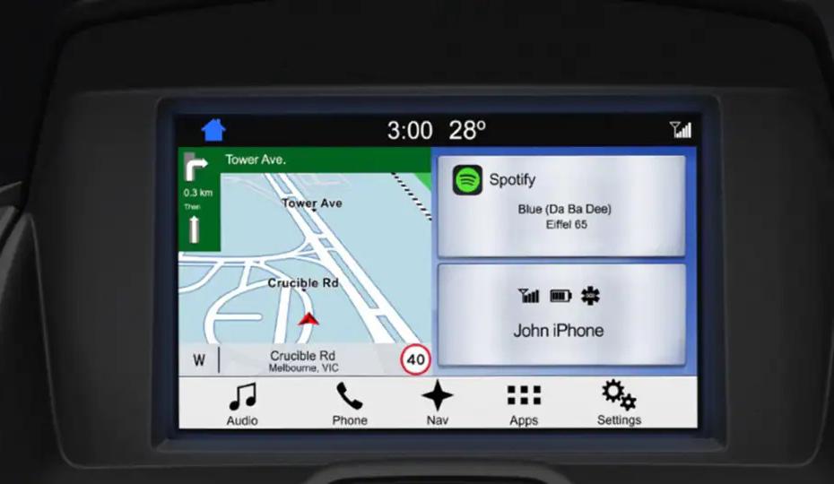 Transit Custom Satellite Navigation