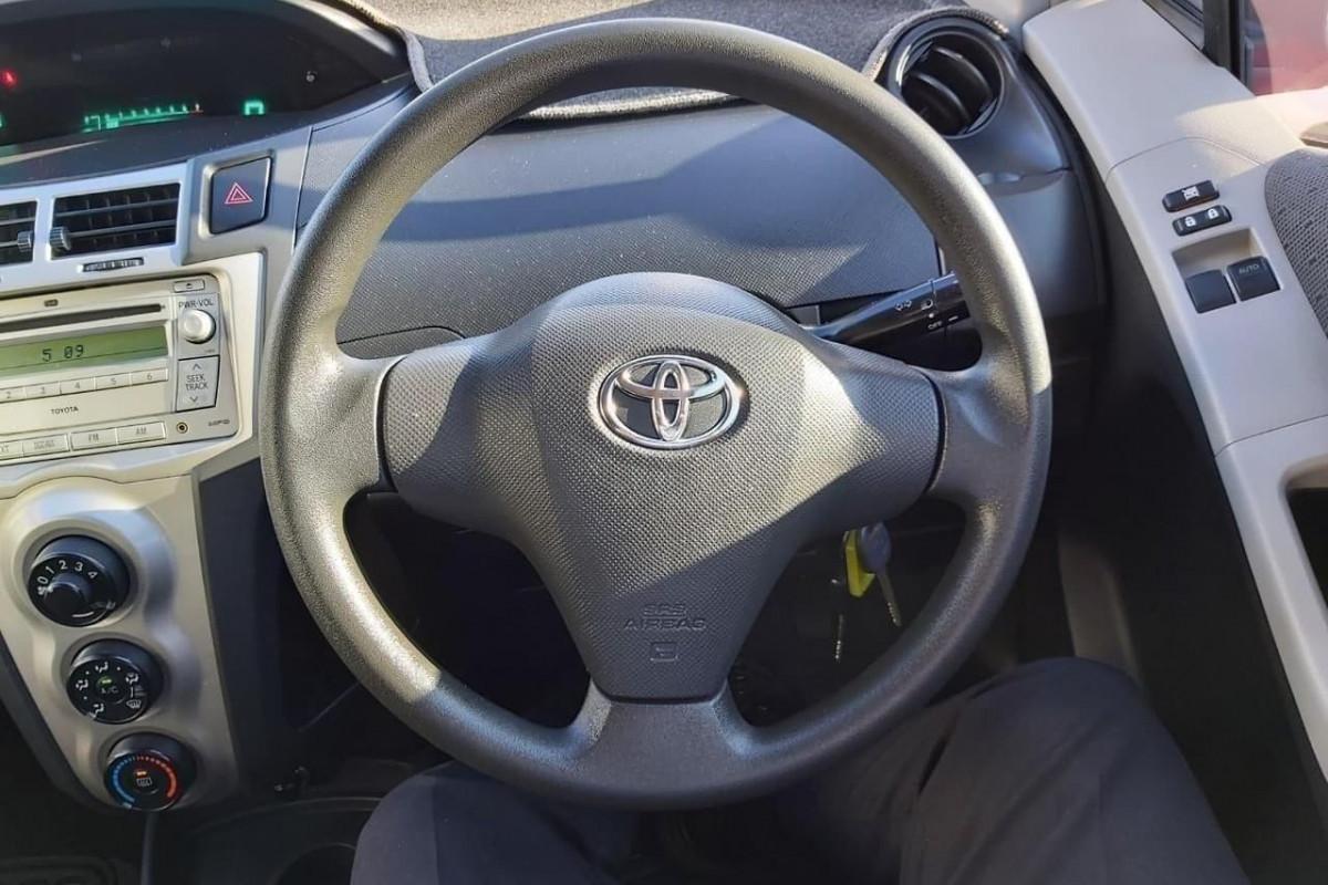 2008 MY09 Toyota Yaris NCP90R  YR Hatchback