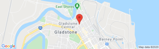 Gladstone MG Map