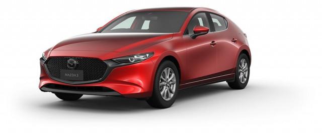 2021 Mazda 3 BP G20 Pure Hatchback Mobile Image 2