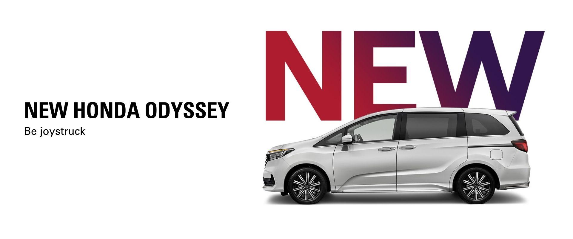 New Honda Odyssey. Be joystruck.
