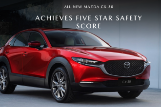 All New Mazda CX-30 Achieves Five Star Safety Rating