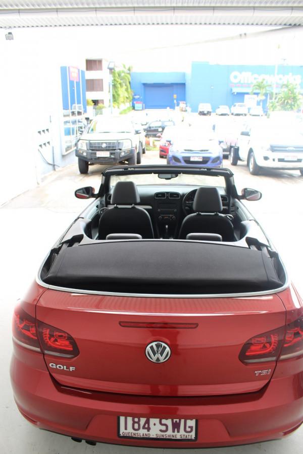 2012 Volkswagen Golf VI MY12 118TSI Cabriolet Image 5