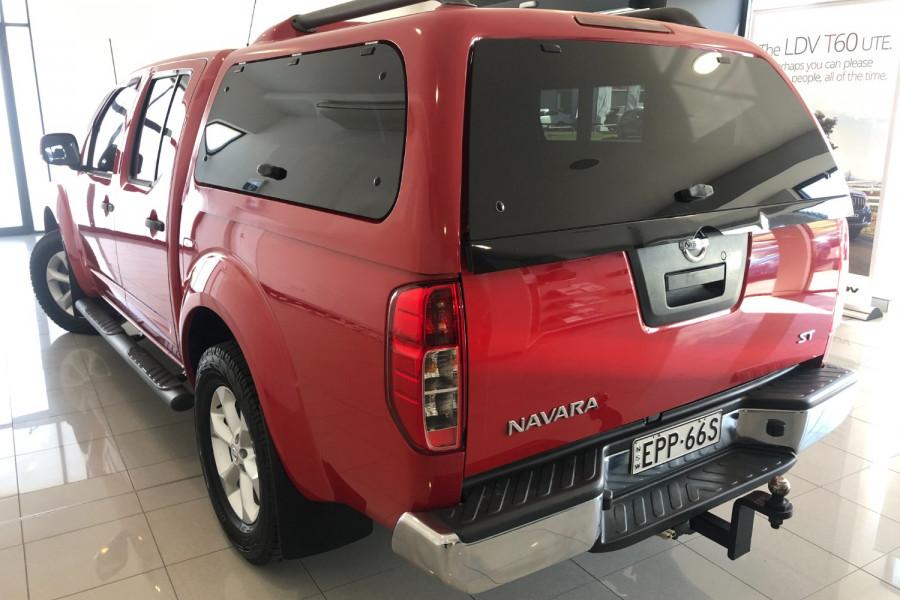 2012 Nissan Navara D40 S6 MY12 ST Utility Image 8