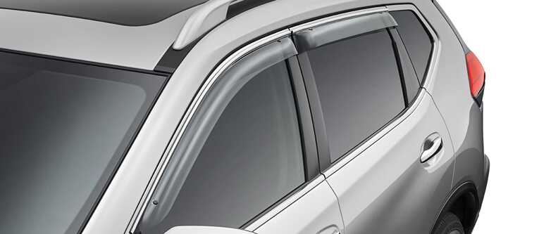 Weathershields (Slimline, Front and Rear)