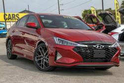 Hyundai Elantra Sport Premium (red) AD.2 MY19
