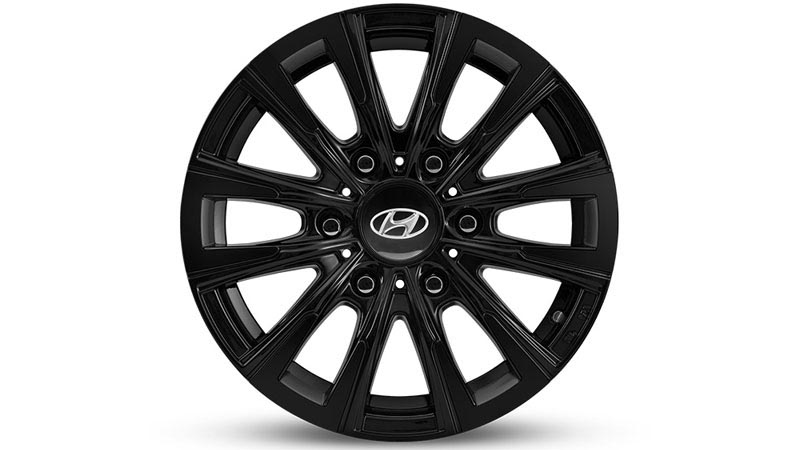 16 inch Iksan Satin Black Alloy Wheel.