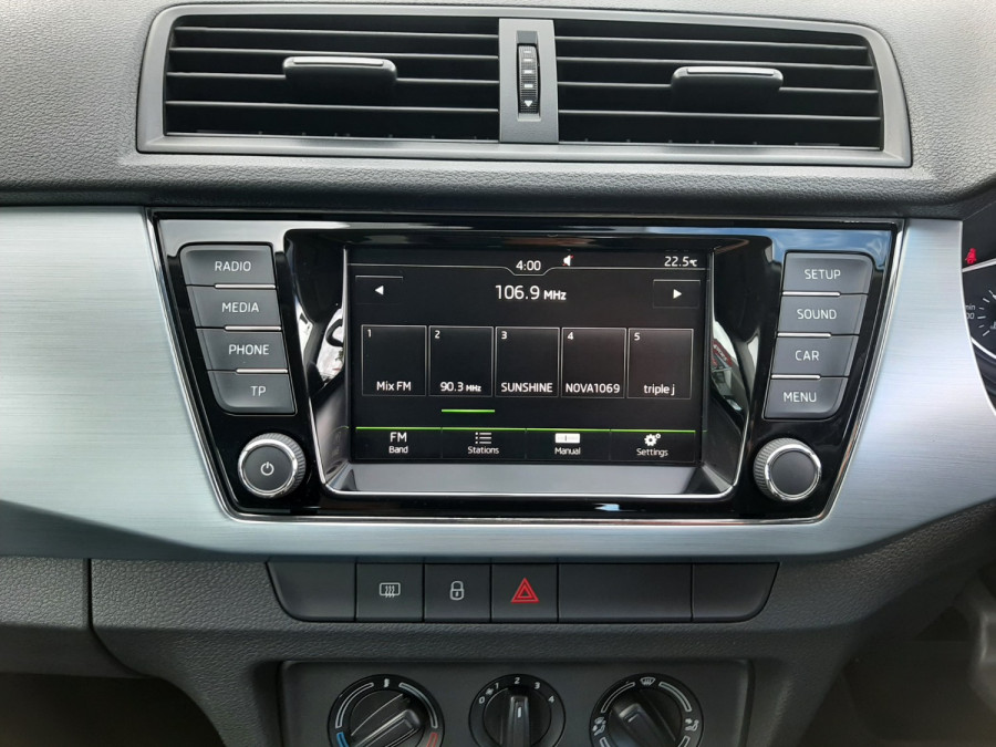 2016 MY17 Skoda Fabia NJ  81TSI Hatchback Image 13