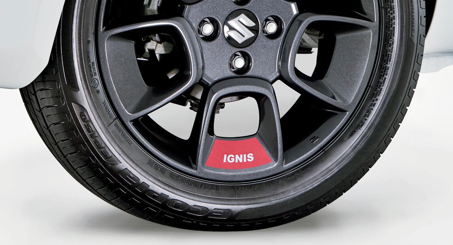 "Ignis - 16"" Wheel Decal Set, Red"