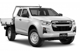 Isuzu UTE D-MAX SX 4x4 Space Cab Chassis