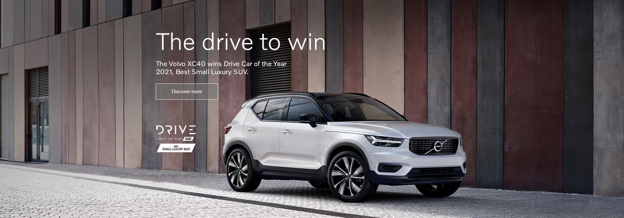 The Volvo XC40 wins Drive Car of the Year 2021, Best Small Luxury SUV.