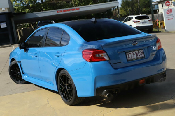 2015 MY16 Subaru WRX V1 MY16 Hyper Blue Lineartronic AWD Sedan Image 2