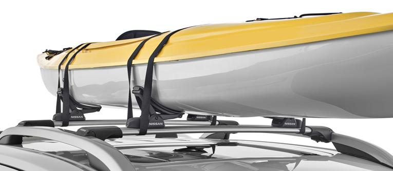 "<img src=""Roof Bar Accessories: Kayak/Canoe Carrier"