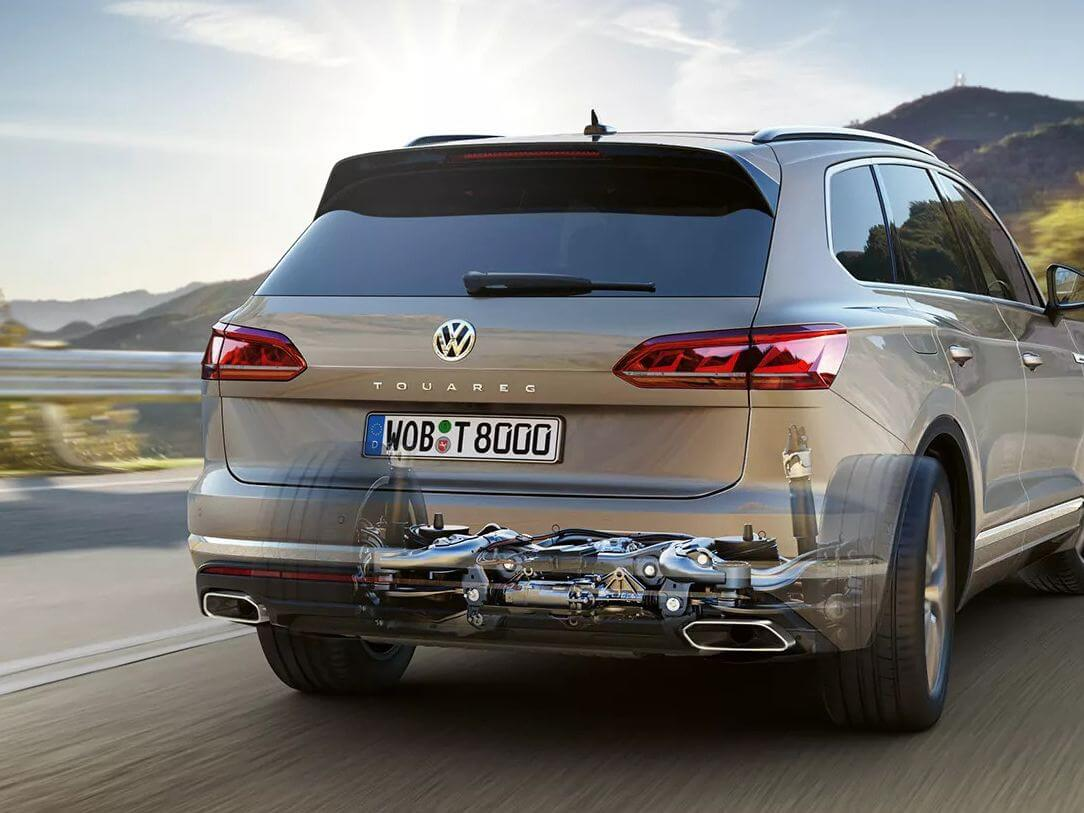 Touareg It looks powerful <strong>because it is powerful</strong>