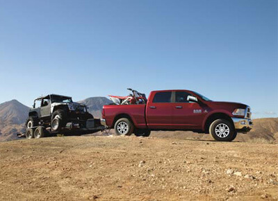 Laramie 2500 THE TOWING EDGE
