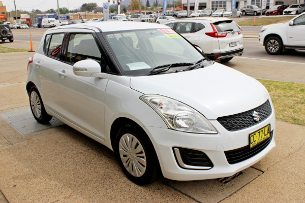 2014 MY15 Suzuki Swift FZ GL Hatchback Image 4