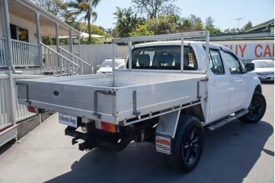 2011 Nissan Navara D40 ST Utility Image 4