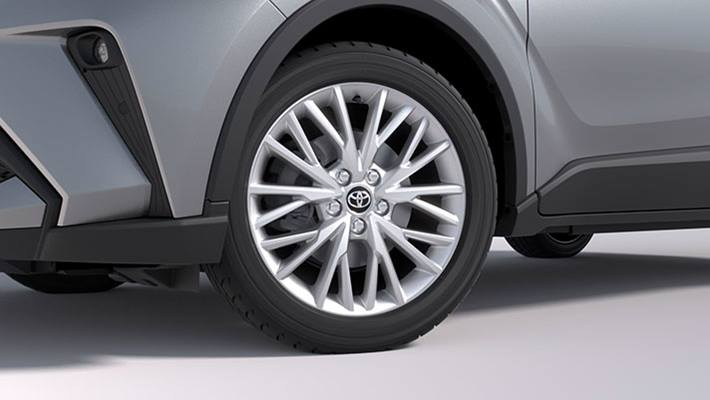 18 inch Alloy Wheels - Glossy Silver