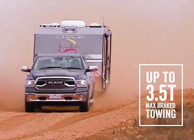 1500 Laramie V6 EcoDiesel Class-leading towing
