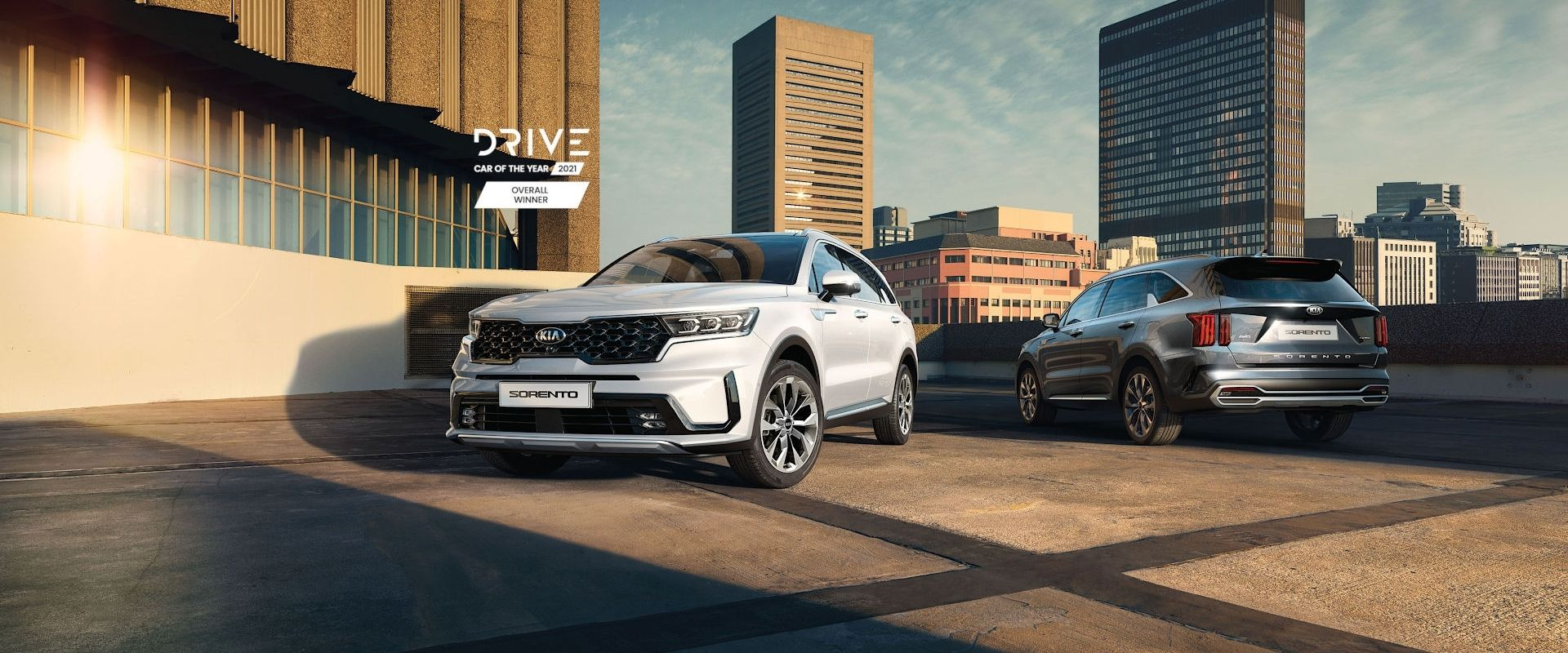 Kia Sorento - Drive Car of the Year 2021 - Overall Winner