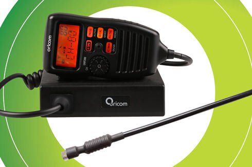 "<img src=""UHF CB Radio Oricom Bull bar fitment"