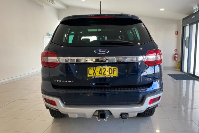 2020 MY20.75 Ford Everest UA II 2020.75MY Titanium Suv Image 4