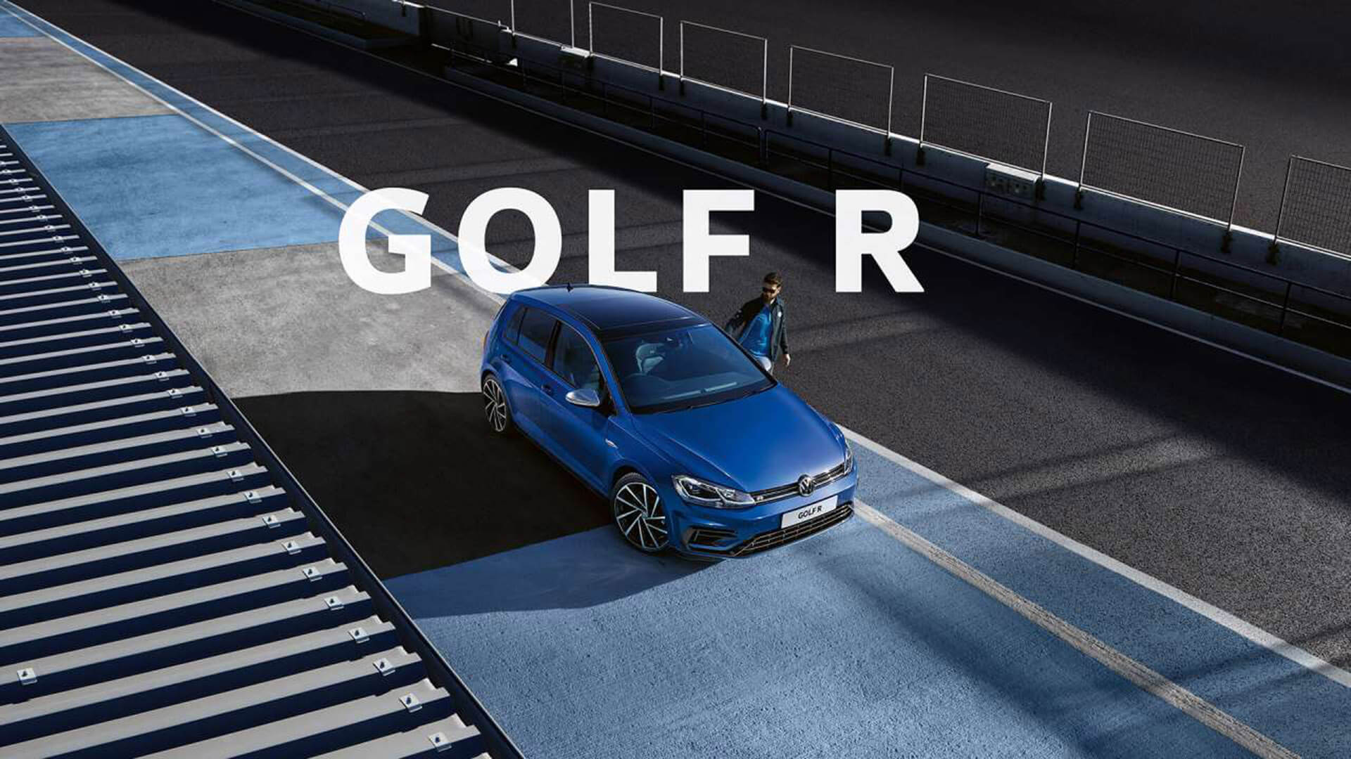 Golf R Feel the thrill.