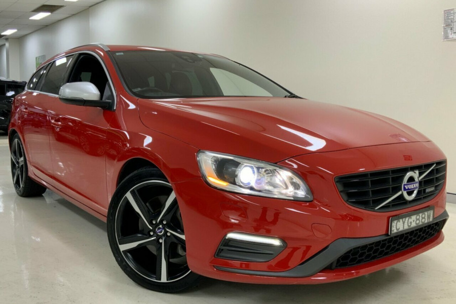 2014 Volvo V60 (No Series) T6 R-Design Wagon Mobile Image 1