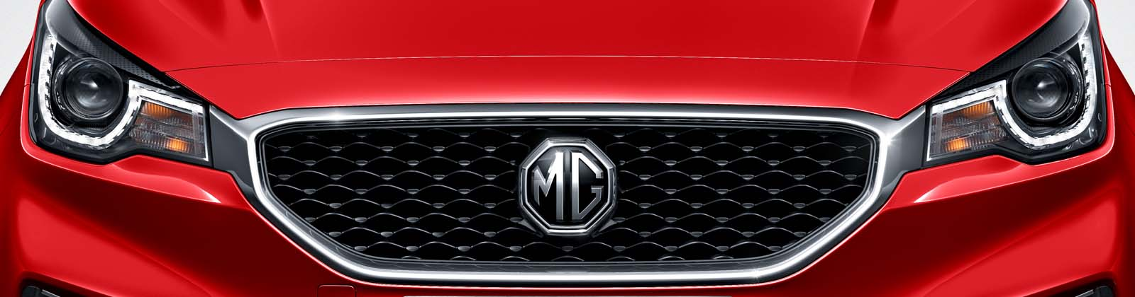 MG MG3 front grille