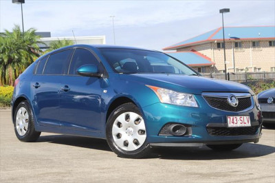 2012 Holden Cruze JH Series II MY13 CD Hatchback