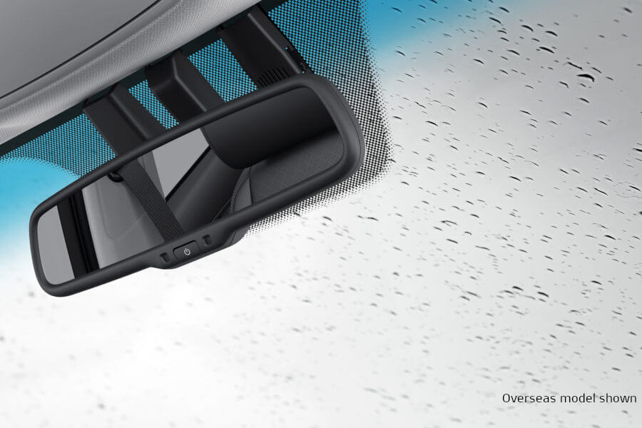 Rain Sensing Aero Blade Wipers