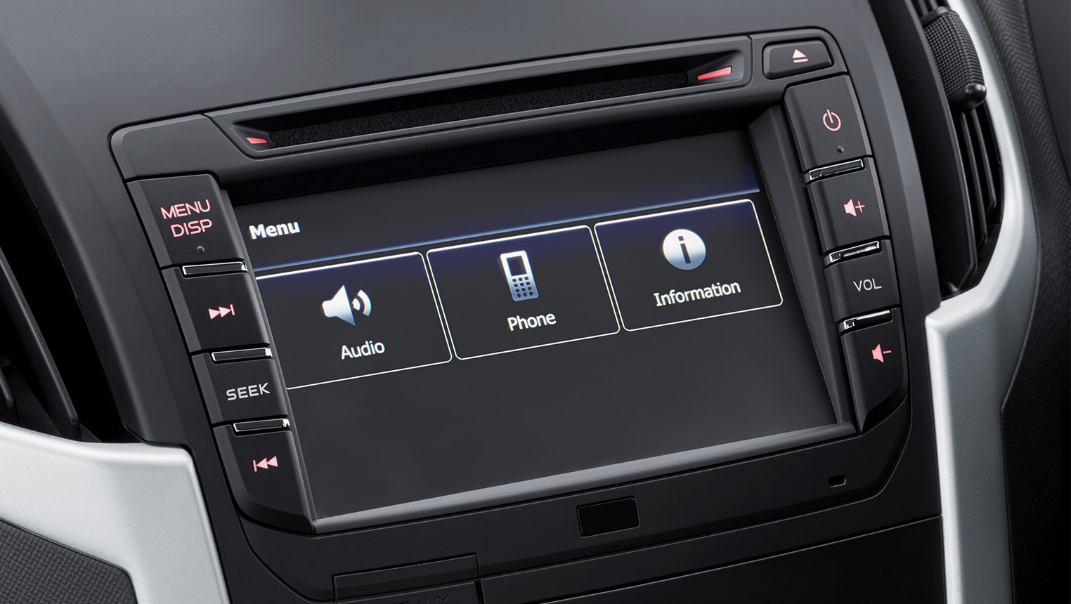 Touchscreen Display Audio System Image