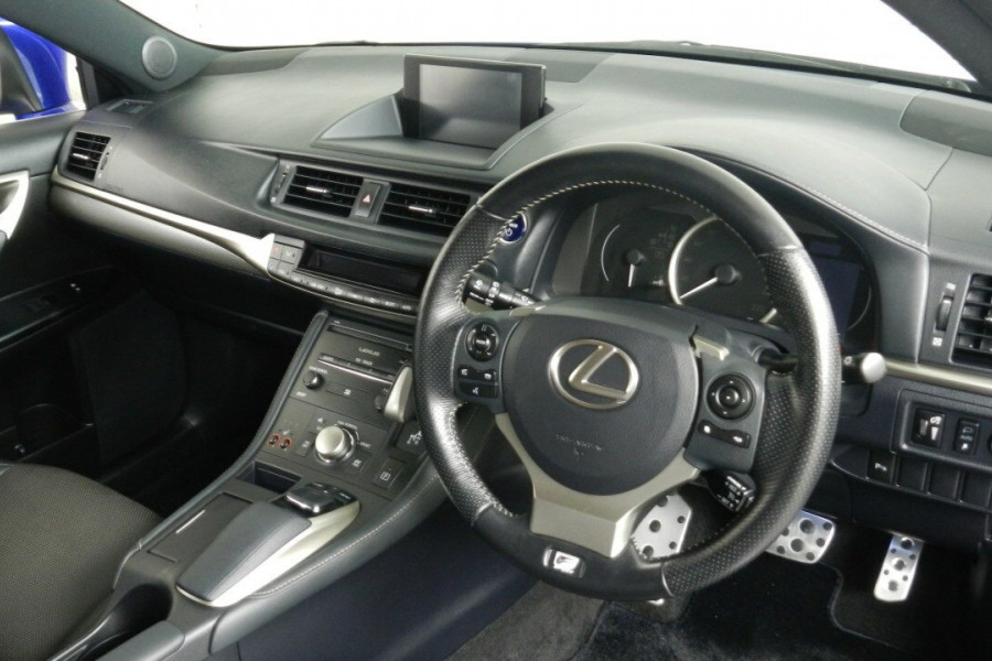 2015 Lexus Ct200h ZWA10R MY15 F Hatchback Mobile Image 17
