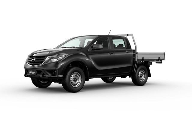 2020 Mazda BT-50 UR 4x4 3.2L Dual Cab Chassis XT Cab chassis