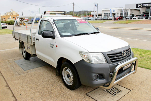 2012 Toyota HiLux TGN16R  Workmate Cab chassis - single cab