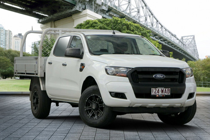 2015 Ford Ranger PX MkII XL Double Cab Cab chassis
