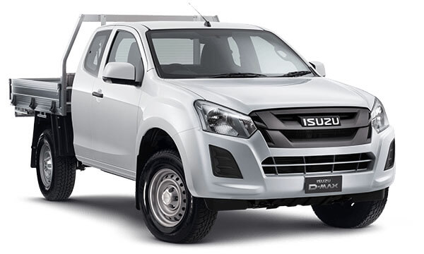 2019 Isuzu UTE D-MAX SX Space Cab Chassis 4x4 Cab chassis - extended cab