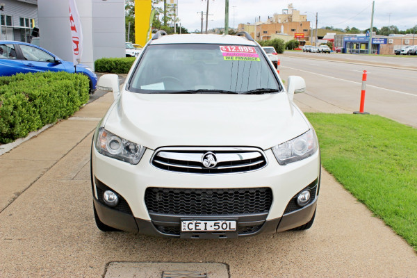 2011 MY10 Holden Captiva CG  CX Suv