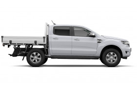2021 MY21.75 Ford Ranger PX MkIII XLT Double Cab Chassis Utility Image 3