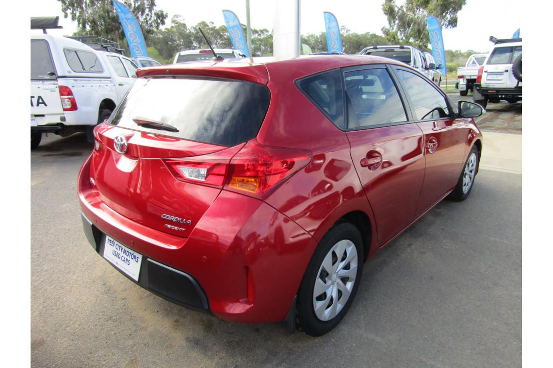 2014 Toyota Corolla ZRE182R ASCENT Hatchback