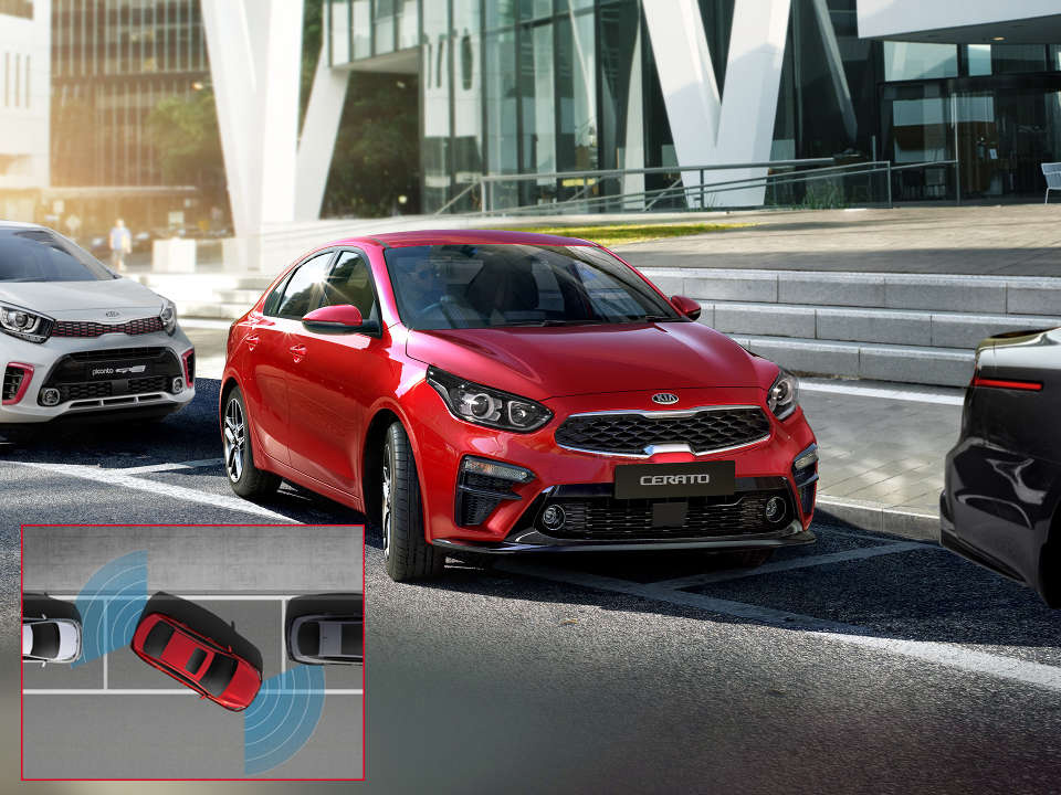 Cerato Hatch Front and Rear Parking Sensors