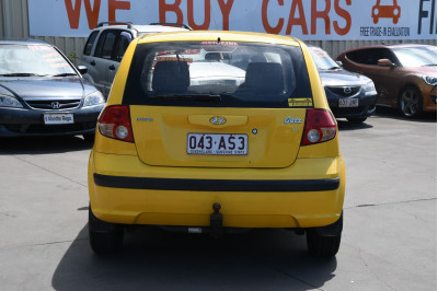 2004 Hyundai Getz TB MY04 GL Hatchback Image 4