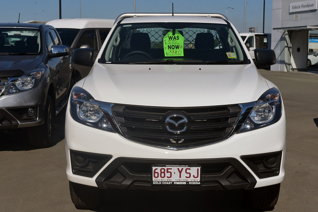 2018 MY19 Mazda BT-50 UR 4x2 3.2L Freestyle Cab Chassis XT Freestyle cab chassis Image 2