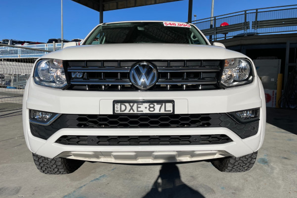 2018 Volkswagen Amarok 2H  TDI550 Sportline Utility Image 2